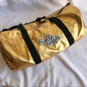 """Handbags - Gold """"Hustle Duffle"""" Bag"""